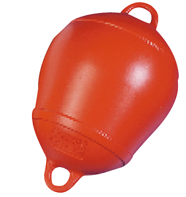 Mooring Buoy orange Dia 250mm H 390mm