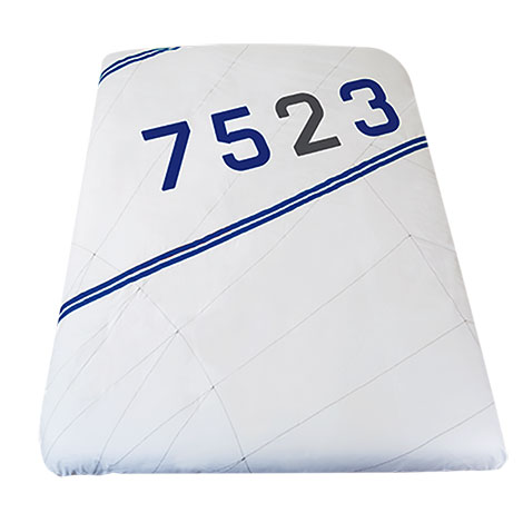 Seashop duvet cover 260x240 blue for Couette 260x240