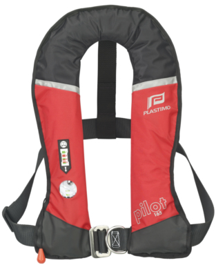 Lifejacket Plastimo Pilot 165 harness pro-sensor red