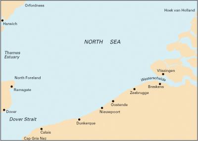 Imray C30 Thames to Holland and Belgium