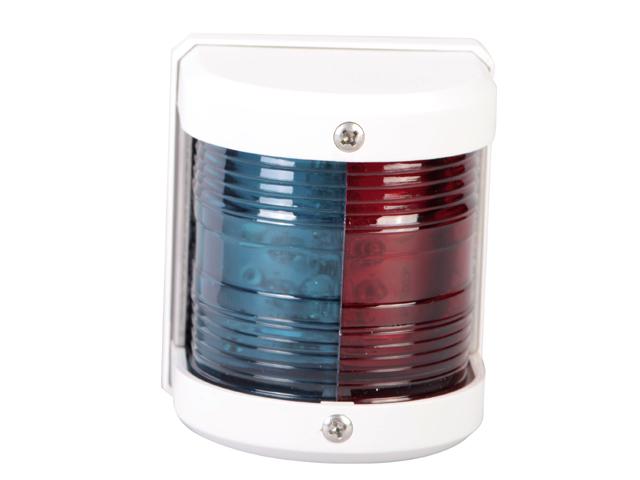 12V STAINLESS STEEL LED BI-COLOUR BOW LIGHT BOAT PORT//STARBOARD NAVIGATION LAMP