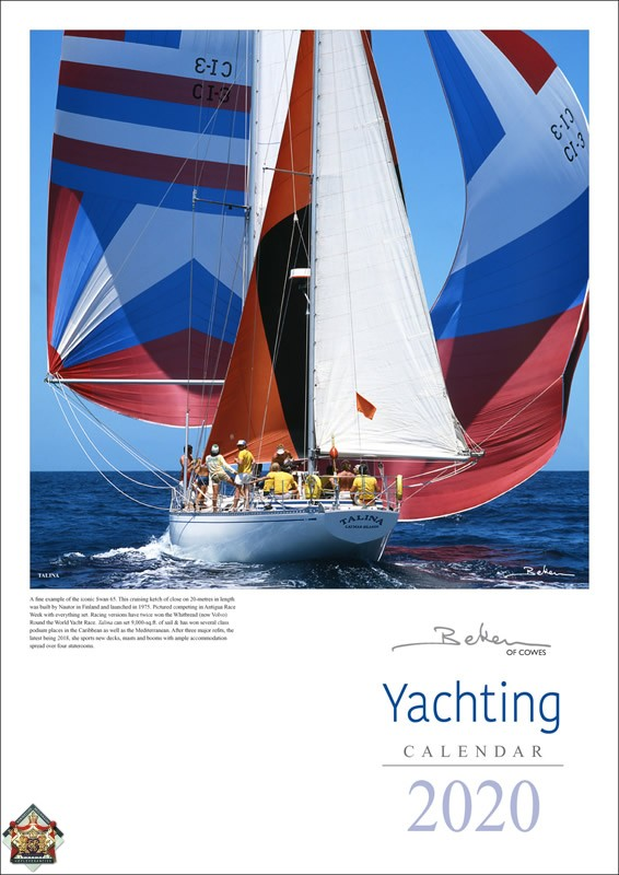 Calender Beken of Cowes Yachting 2020
