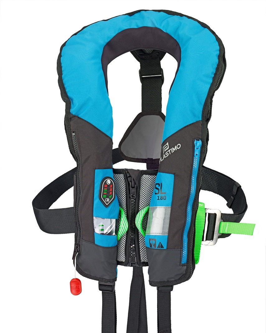 Lifejacket Plastimo GF SL 180 harness Hammar blue