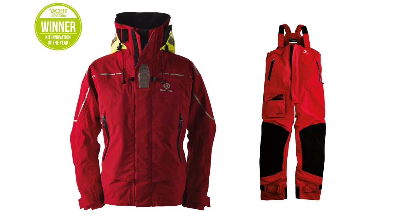 Henri Lloyd Elite Offshore Jacket and pant 2.0 women red Size S