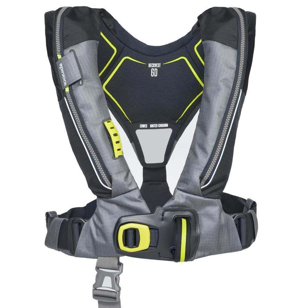 Spinlock lifejacket Deckvest 170N pro sensor DW-LJH6D/A grey